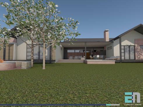 View towards verandah:  Patios by ENDesigns Architectural Studio