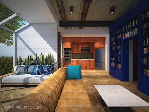 INTERIOR PERSPECTIVE:   by MANA ATELIER CO.,LTD