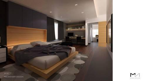BEDROOM:   by MANA ATELIER CO.,LTD