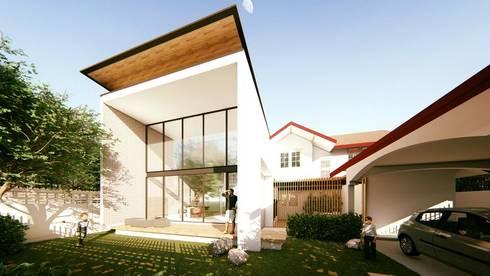 HOUSE     SUANPAK 38:   by MANA ATELIER CO.,LTD