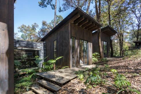 CASA M: modern Houses by Rivadeneyra Arquitectos