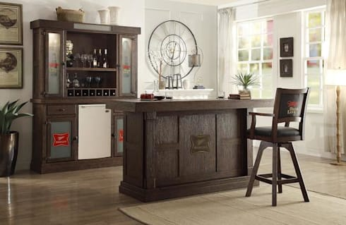 How to Better Organise Your Bar Furniture at Home: modern Wine cellar by Perfect Home Bars
