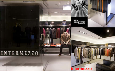 Intermezzo: modern Dressing room by siDE Architects Ltd.