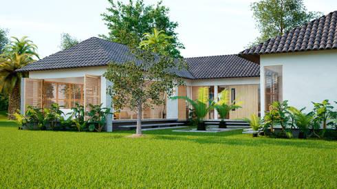 casa principal hotel miraflores: Hoteles de estilo  por Adrede Diseño