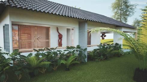 hotel miraflores san andres: Hoteles de estilo  por Adrede Diseño