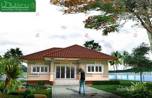 แบบบ้านชั้นเดียวสวยๆ:   by บ้านอีสาน