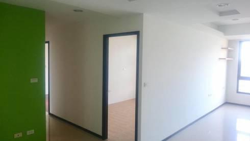 走廊入口處:   by 圓方空間設計