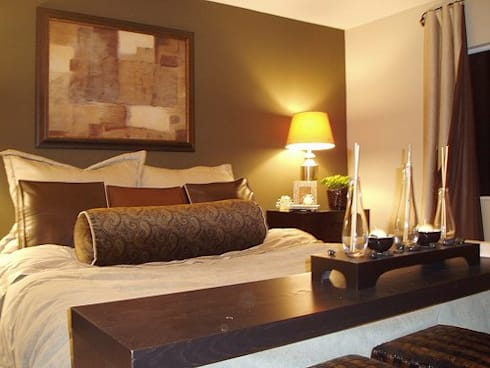 Cedar Lakes Show house : modern Bedroom by CKW Lifestyle