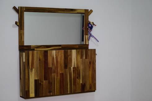 Mueble cerrado: Hogar de estilo  por Alejandro Martínez - Diseñador industrial