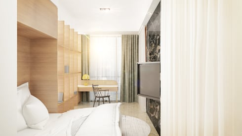 Guest Room:  Kamar Tidur by Co+in Collaborative Lab