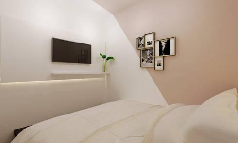 Masterbedroom:  Kamar Tidur by Co+in Collaborative Lab