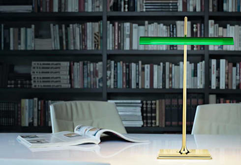 Flos燈具意大利進口高端燈具品質藝術_意大利之家:  客廳 by 北京恒邦信大国际贸易有限公司