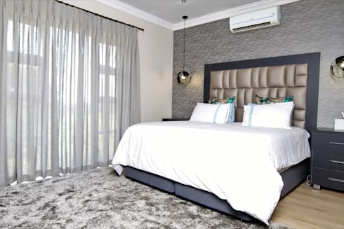 Interior Design and Decor: modern Bedroom by Motama Interiors and Exteriors
