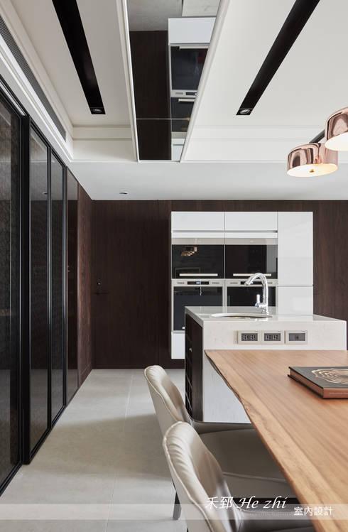 藴育藴意:  餐廳 by 禾郅 室內設計
