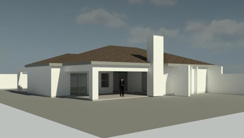 House POLE: modern Houses by KGOBISA PROJECTS