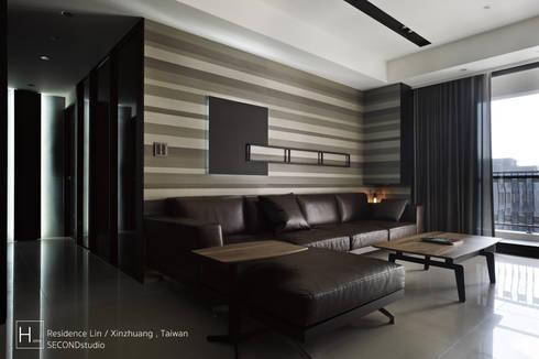 Living room / 客  廳:  客廳 by SECONDstudio