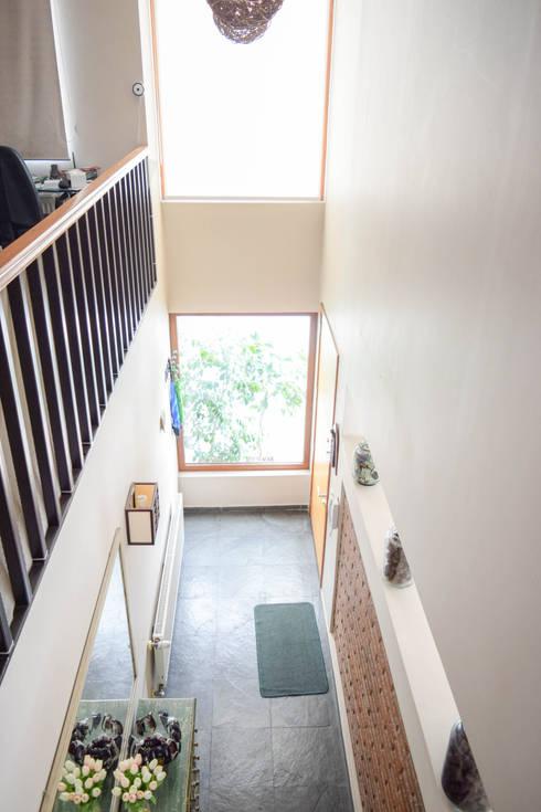 Remodelación de Casa Islas Fidji por Arqbau: Escaleras de estilo  por Arqbau Ltda.