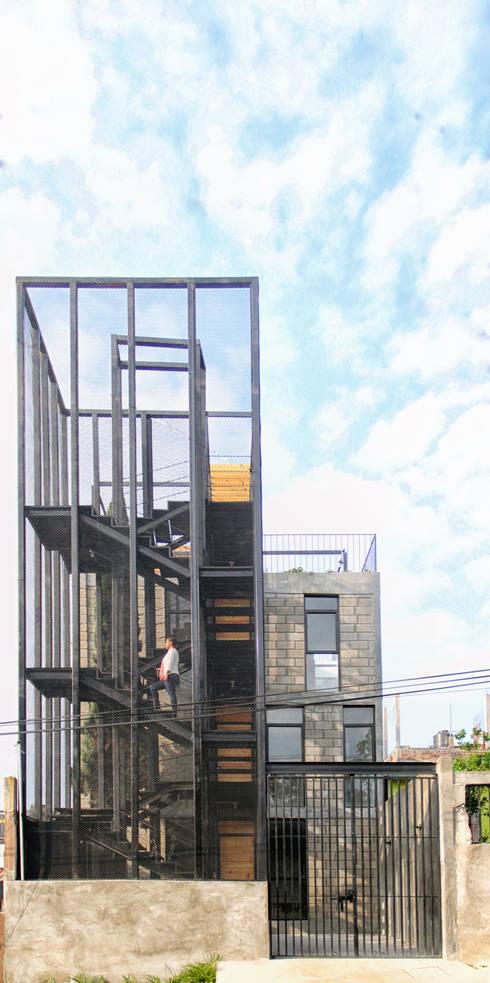 Дома в . Автор – Apaloosa Estudio de Arquitectura y Diseño
