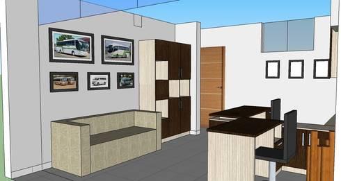 Muebles De Oficina: Oficinas de estilo moderno por MARSHEL DUART SRL
