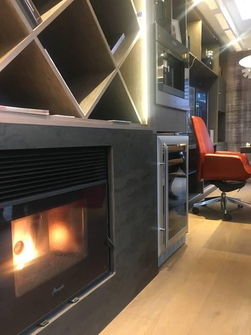 Antes : Estudios y biblioteca de estilo  por Kaa Interior