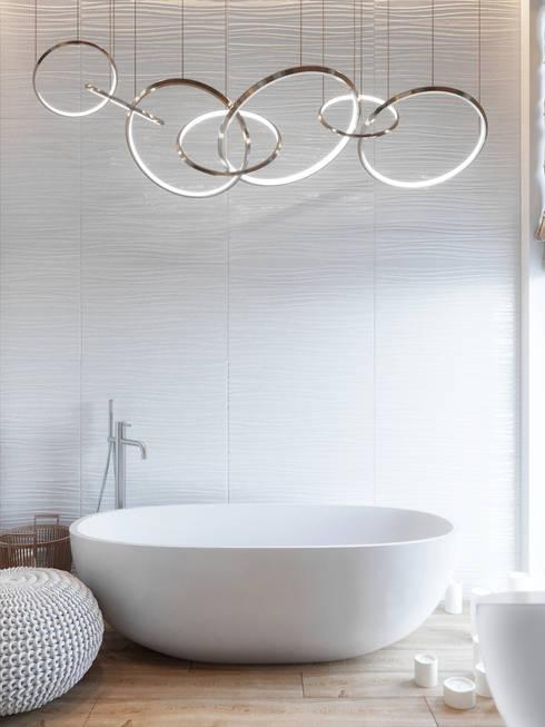 Таунхаус в Футуро Парк: Ванные комнаты в . Автор – Loft&Home