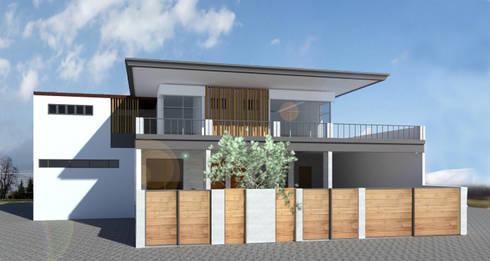 Single family home by Zhardei Alyson Architect