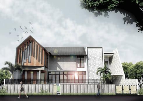 H-House:  Rumah keluarga besar by Scande Architect