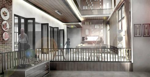 Ruang keluarga:  Ruang Keluarga by Scande Architect