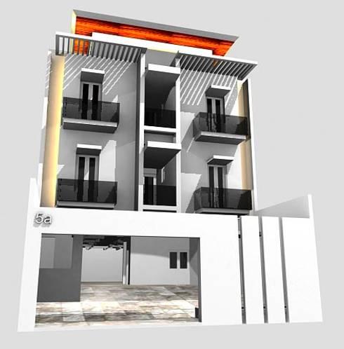 Rumah Kost 20 unit kamar, Kalibata Jakarta Selatan:   by PT.  DIAN CIPTA BANGUN