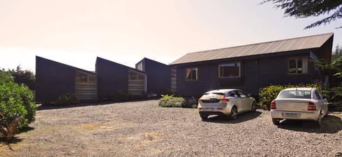 Cabañas Algarrobo: Casas unifamiliares de estilo  por m2 estudio arquitectos