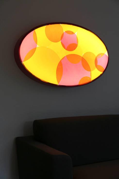Lichtobjekte:  Wohnzimmer von Textile Objekte