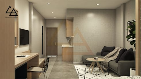 Space combination:   by G.A Studio