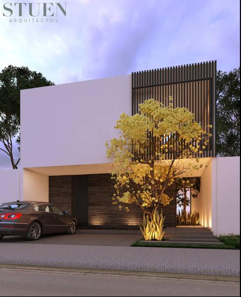 : Casas unifamiliares de estilo  por Stuen Arquitectos