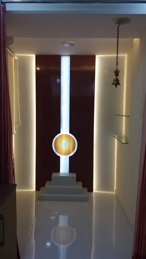Mandir: modern Bedroom by Design Kreations