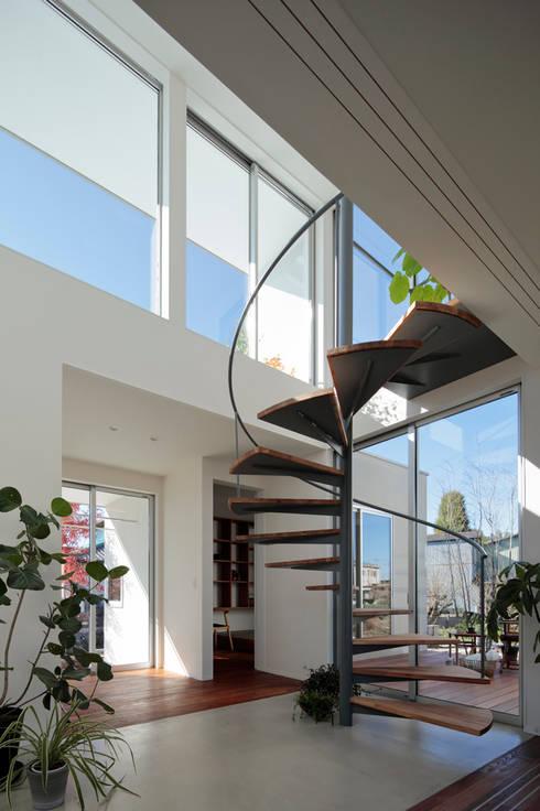 只上の家: arc-dが手掛けた階段です。