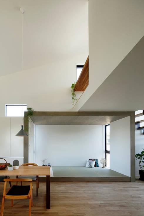 上田町の家: arc-dが手掛けた和室です。