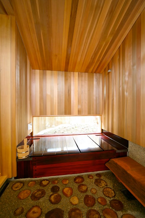 Phòng tắm by 株式会社高野設計工房