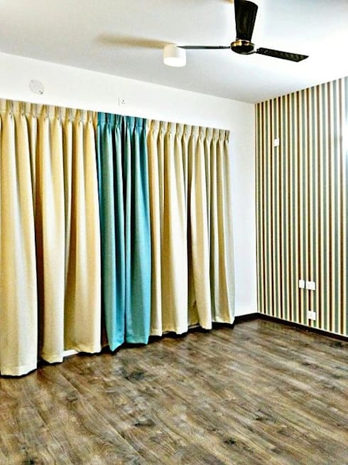 Curtains and Drape color schemes:  Windows & doors  by Origami Space Design