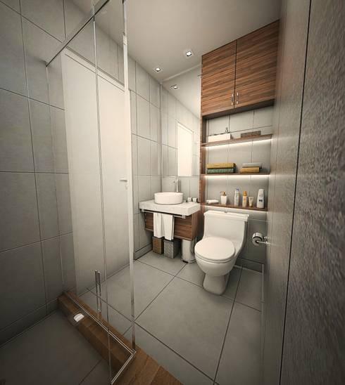 Baño y lavado: Baños de estilo  por GA Experimental