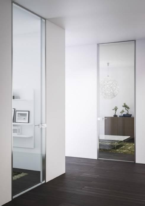 أبواب زجاجية تنفيذ IQ Furniture