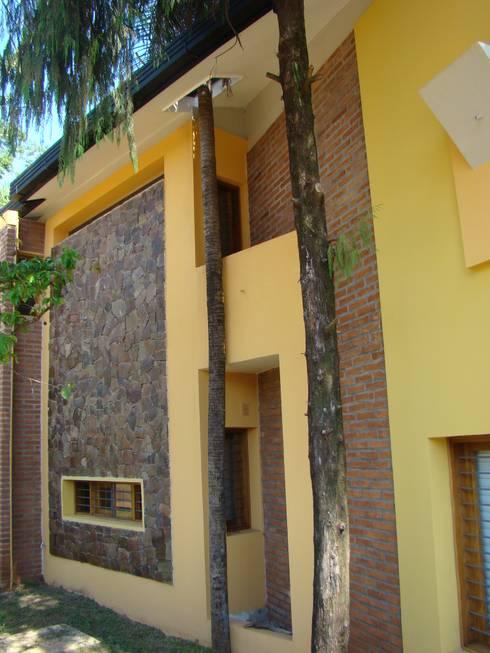 Casa LF - Exterior 9: Casas de estilo  por Módulo 3 arquitectura