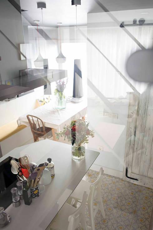 La reforma de una casa de estilo mediterráneo en Madrid