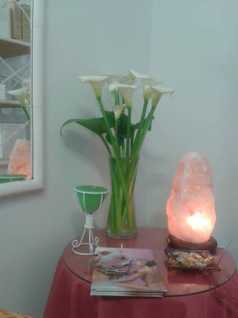 Rincón de la sala.: Spa de estilo  de Gala Feng Shui Interiorismo