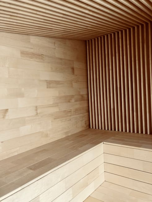 Sauna door Karl Kaffenberger Architektur | Einrichtung