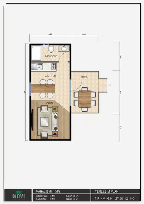 Kleines Haus von MOVİ evleri