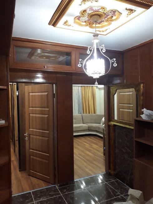 Vip Dekorasyon – Beyoğlu Anahtar Teslim Daire Dekorasyonu:  tarz Ev İçi