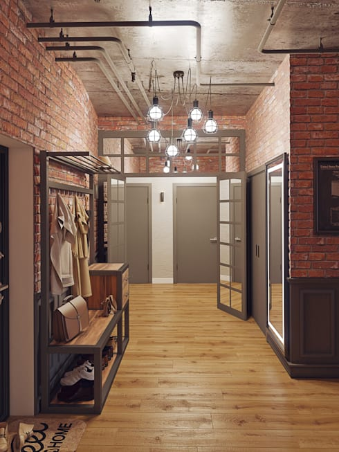 Corridor and hallway by Loft&Home