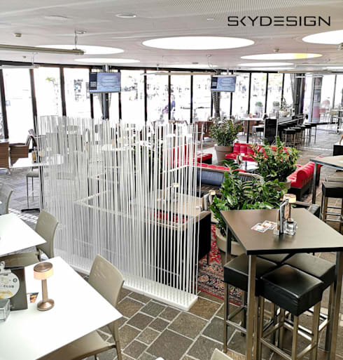 Dining room by www.skydesign.news - Raumteiler aus Berlin