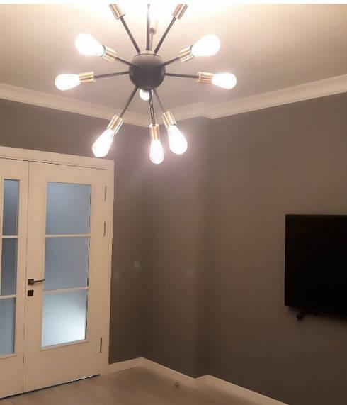 Evde Mimar – Işıklandırma:  tarz Oturma Odası
