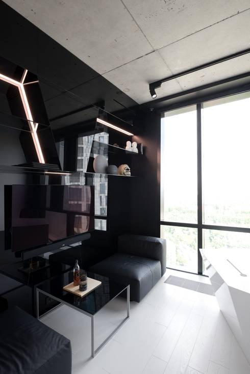 Geometrix Design의  서재 & 사무실